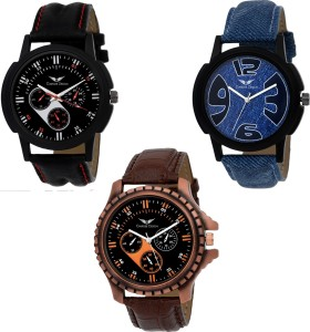 Gargee Design New 514133 Combo of 3 , Eye Catching, Value for Money ,friendship gift in wrist watches Analog Watch  - For Boys