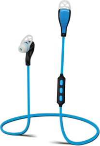 DEZFUL M1 Blue Wireless bluetooth Headphones