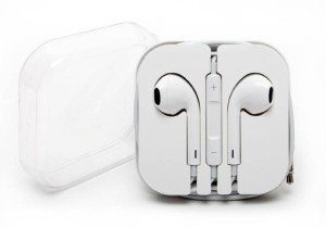 SHOPCRAZE Earphones Headphones Earpods Earbuds With Mic For Apple iPhone / iPad / iPod Wired Headset With Mic (White) Wired Headset With Mic