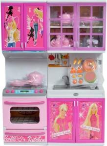 Akshit Beautiful Kitchen Set For Girls Barbie Fruit Best Price In