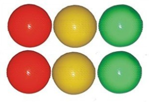 SPORTS SOLUTIONS Practice Cricket Ball -   Size: full