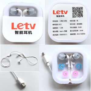SHOPCRAZE Type-C Headphone Earphone for LeEco Letv Le 2 X620/Le 2 Pro/ Le Max 2 X820 Phone (White) Wired Headset With Mic