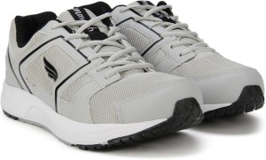 50f417e26c21d Mmojah Energy 41 Running Shoes Black Grey Best Price in India ...