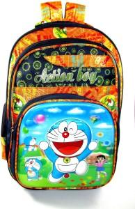 ehuntz Doraemon 5D embossed Big Waterproof School Bag