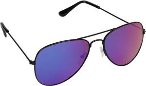 31d659b148 Criba Stylish UV400 Protection Aviator Sunglasses Blue Best Price in ...