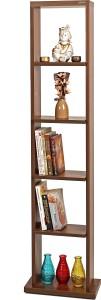 Bluewud Walten Engineered Wood Open Book Shelf