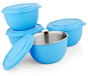 Lavi Blue Stainless Steel Bowl Set