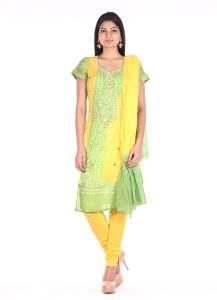 Soundarya Cotton Polyester Blend Printed Salwar Suit Dupatta Material
