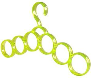 Swarish Multifunctional 6 Circles Scarf Belt Ties Towel Hanger Scarf Organizer