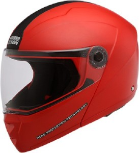 03e5ddb5 Studds Ninja Elite Motorsports Helmet Red with Carbon Center Strip ...