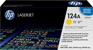 HP HP LaserJet Q6002A Print Cartridge (Yellow) Single Color Toner