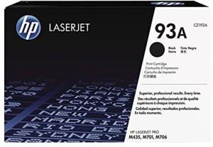 HP HP 93A Black / CZ192A Toner Cartridge Single Color Toner
