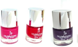 Blue Heaven celebration Red Purpul Pink ( 8 ml Pack of 3 ) 3cdd6fc733b