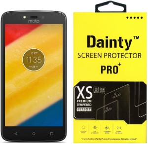 Dainty Tempered Glass Guard for Moto C Plus (5 inch)