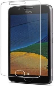 RIdhaniyaa Tempered Glass Guard for Motorola Moto C Plus