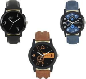 KAYA Hot Combo of 3 men and Boy Wrist Analog Digital Wrist Watch  - For Boys