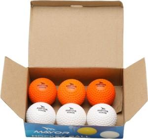 0fef33689f3 Mayor Venom Hockey Ball Size 5 Pack of 6 Multicolor Best Price in ...