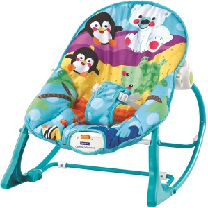 8cfd1800f Fiddle Diddle Baby Bouncer Cum Rocker Multicolor Best Price in India ...