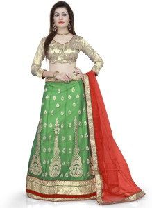 4391d0b71a Divastri Net Embroidered Embellished Semi stitched Lehenga Choli Material  Best Price in India | Divastri Net Embroidered Embellished Semi stitched  Lehenga ...
