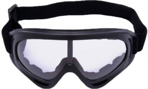 c22eccbd461 AutoPowerz Dirt Bike Racing Transparent Goggles with Adjustable Strap  Motorcycle Goggles
