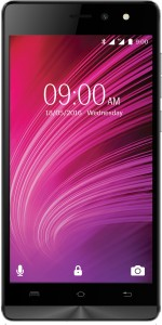 Lava A97 IPS (Black and Grey, 8 GB)