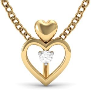 Vachya Love 14kt Diamond Yellow Gold Pendant