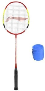 Li-Ning Q30 Badminton Strung Racket with Grip G5 Strung