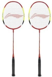 Li-Ning Q30 Badminton Strung Racket - Pack of 2 G5 Strung