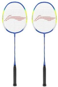 Li-Ning Q50 Badminton Strung Racket - Pack of 2 G5 Strung