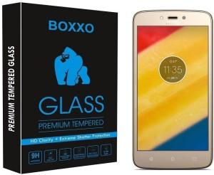 Boxxo Tempered Glass Guard for Motorola Moto C Plus