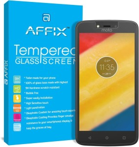 Affix Tempered Glass Guard for Motorola Moto C Plus