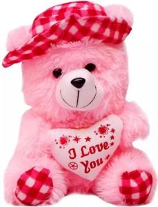 Kt Kashish Toys Cap Teddy Bear  - 30 cm