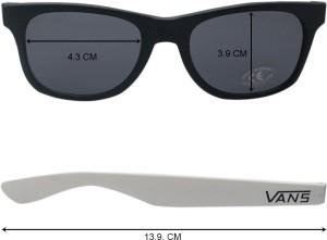919d7ce869 VANS VN000LC0Y281 Wayfarer Sunglasses Black Best Price in India ...