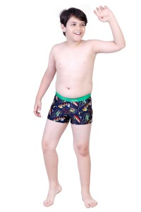 Rovars Geometric Print Boys Swimsuit