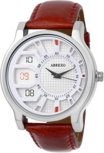 Abrexo Abx-1178WHT (Casual+Formal+Partywear) Exclusive Ring Series Analog Watch  - For Boys