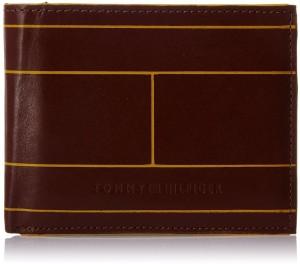 Tommy Hilfiger Men Brown Artificial Leather Wallet