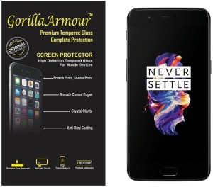 Gorilla Armour Tempered Glass Guard for OnePlus 5 (64 GB)