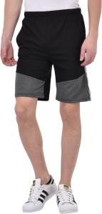 Tej Star Solid Men's Multicolor Running Shorts
