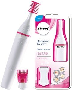 IBS Sweet Sensitive Touch Facial hair Razor remover Cordless Trimmer