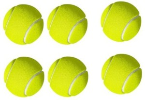 STERLING cricket tennis ball. pack of 6 Cricket Ball -   Size: 5