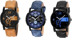 fonce multi colour dial watch Analog Watch  - For Boys