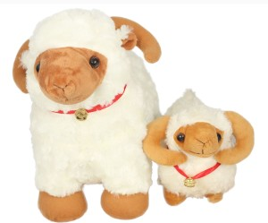 Tickles Sheep with Baby Lamb  - 32 cm