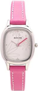 Sonata NG8060SL01C Yuva Analog Watch  - For Women
