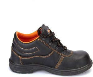 bc1057e4ff4 Hillson Hillson Beston Safety Shoe Lace Up Black Best Price in India ...