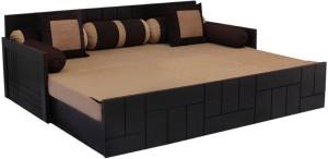 Auspicious Home Nelson (4 Pillows) Double Fabric Sofa Bed