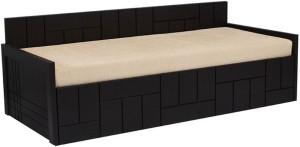 Auspicious Home Nelson (No Pillow) Double Fabric Sofa Bed