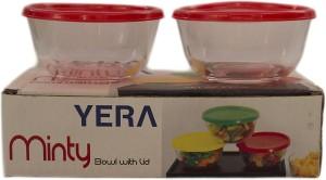 YERA POLO MINTY Glass, Plastic Bowl Set