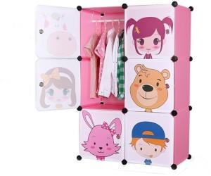 kris toy Baby Cupboard Plastic Almirah