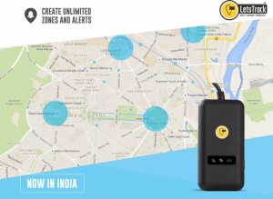 letstrack Car GPS Tracker - Real Time Tracking Device with Engine Cut Off  GPS DeviceBlack