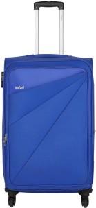 safari MIMIK 4W 55 BLUE Expandable  Cabin Luggage - 117 inch